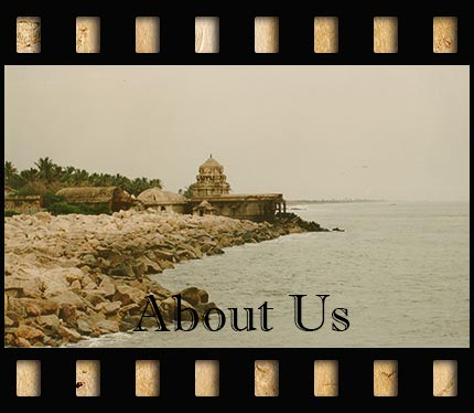 Coastal view of India which opens a pop-up describing the Sunmoonstars Film Studio.